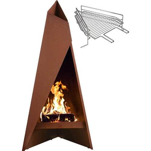 Heta 1470 Tipi med grillrist Terrassevarmer Test
