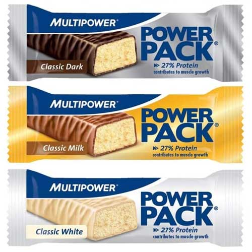 Multipower Power Pack Proteinbar Test