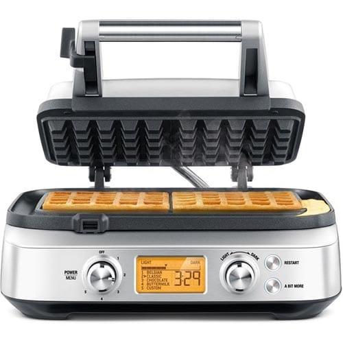 Sage Belgisk The Smart Waffle Vaffeljern Test