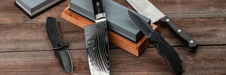 KNIVSLIPER TEST: HOLD DINE KNIVER SKARPE