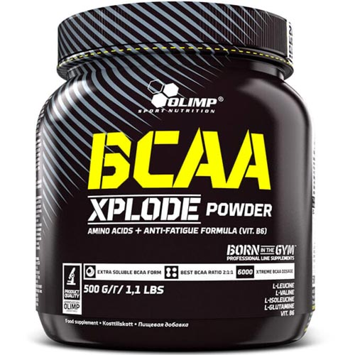 Olimp BCAA Xplode Powder Test