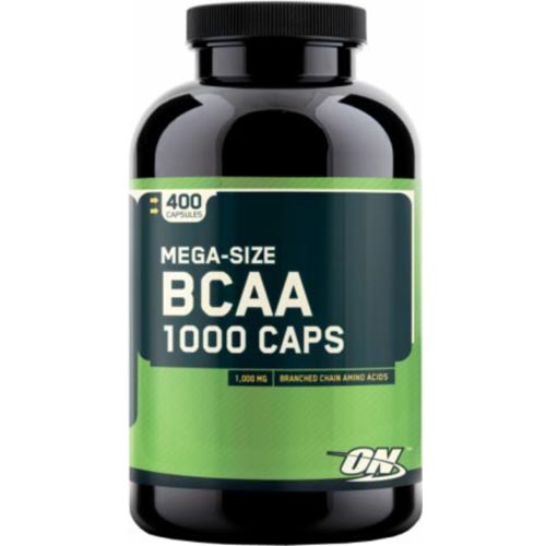 Optimum Nutrition BCAA Caps Test