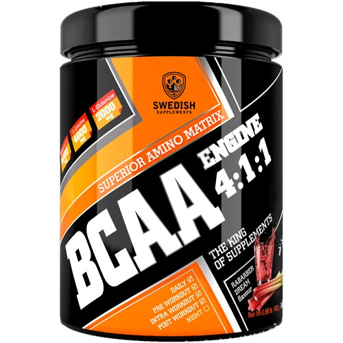 Swedish Supplements BCAA Engine Test